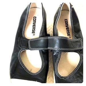 Converse leather maryjane